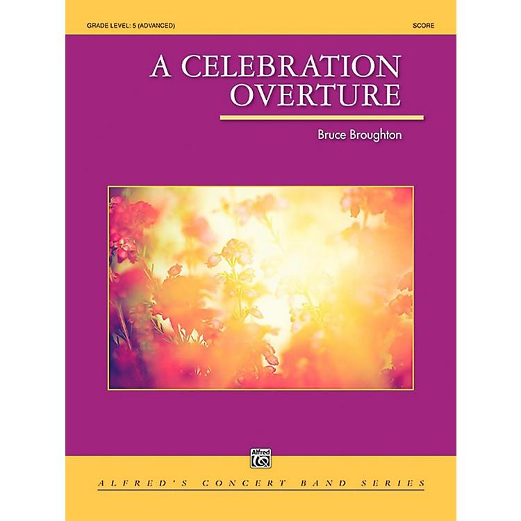 AlfredA Celebration Overture Concert Band Grade 5 (Difficult)