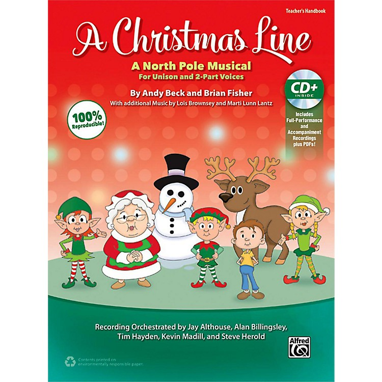 Alfred A Christmas Line CD Kit Book & Enhanced CD