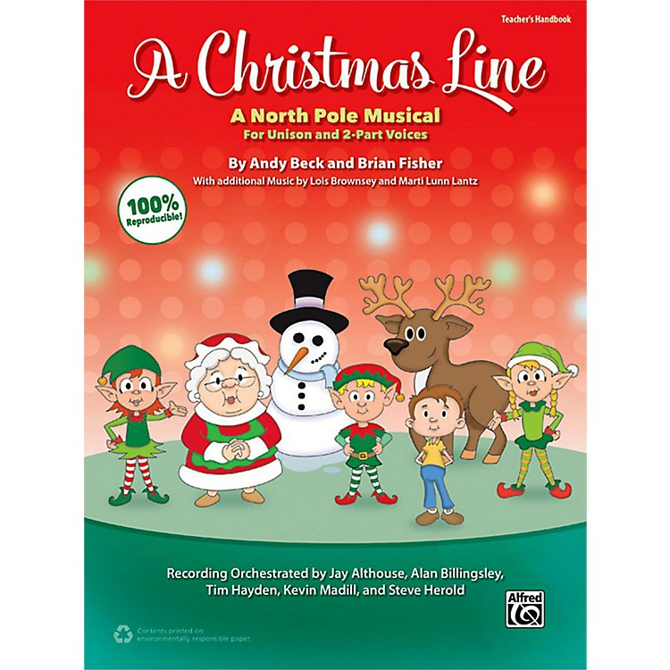 AlfredA Christmas Line Enhanced CD