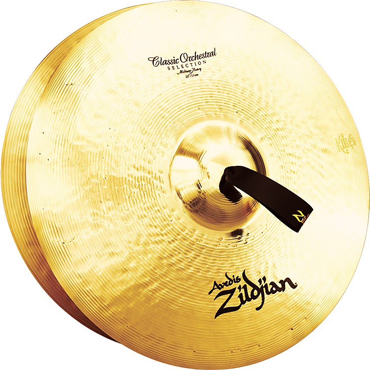 Zildjian A Classic Orchestral Medium Heavy Crash Cymbal Pair  20 in.