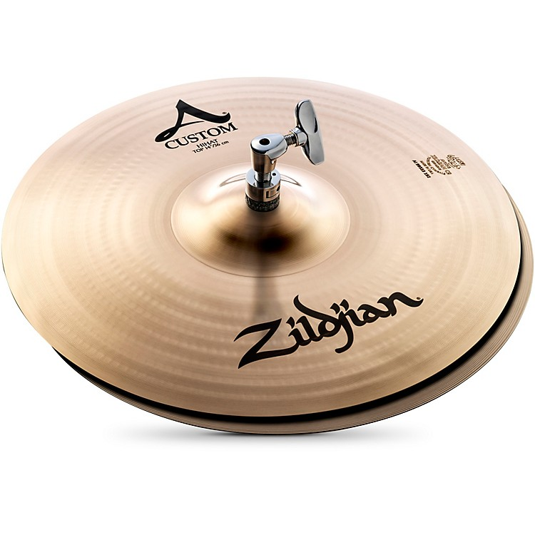 Zildjian A Custom Hi-Hat Pair  14 Inches