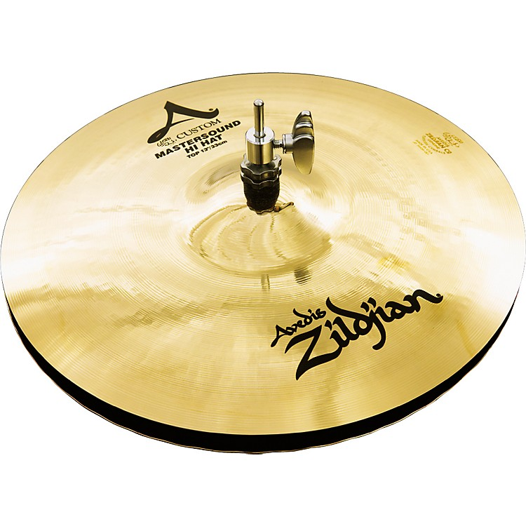 Zildjian A Custom Mastersound Hi-Hat Pair  13 in.