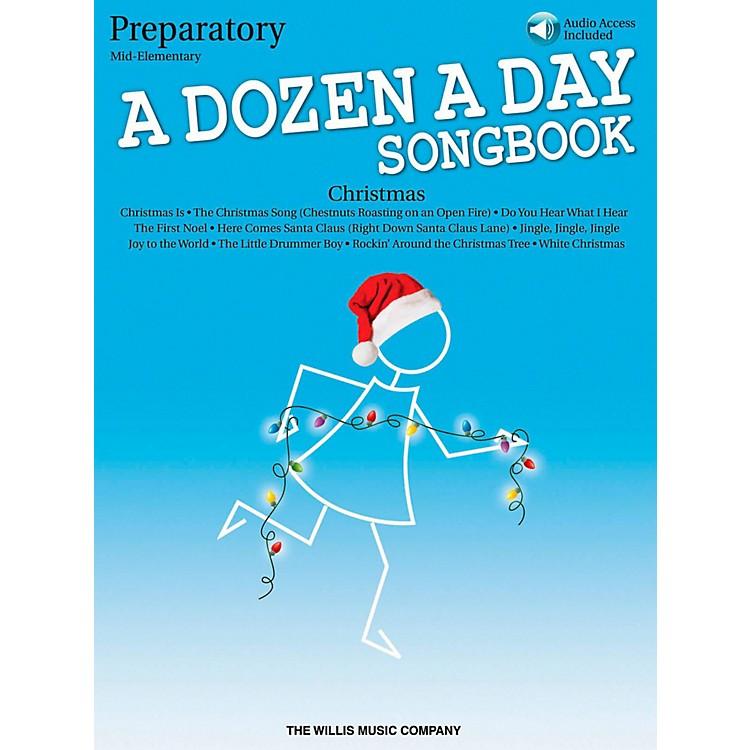 Hal LeonardA Dozen A Day Christmas Songbook - Preparatory (Book/Audio)