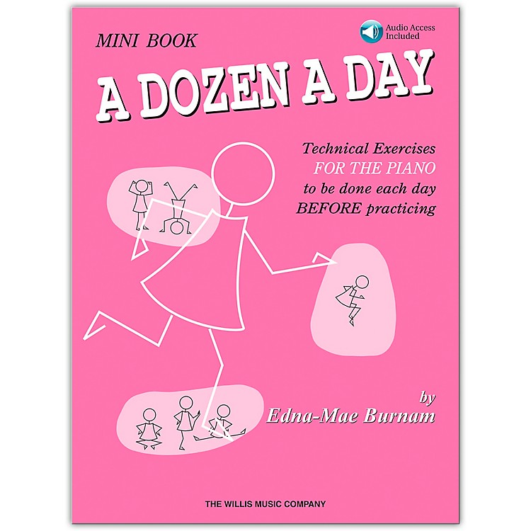 Willis Music A Dozen A Day Mini  Book Bk/CD