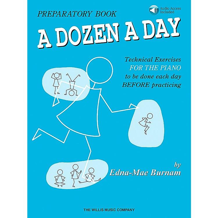 Willis MusicA Dozen A Day Preparatory Book/CD