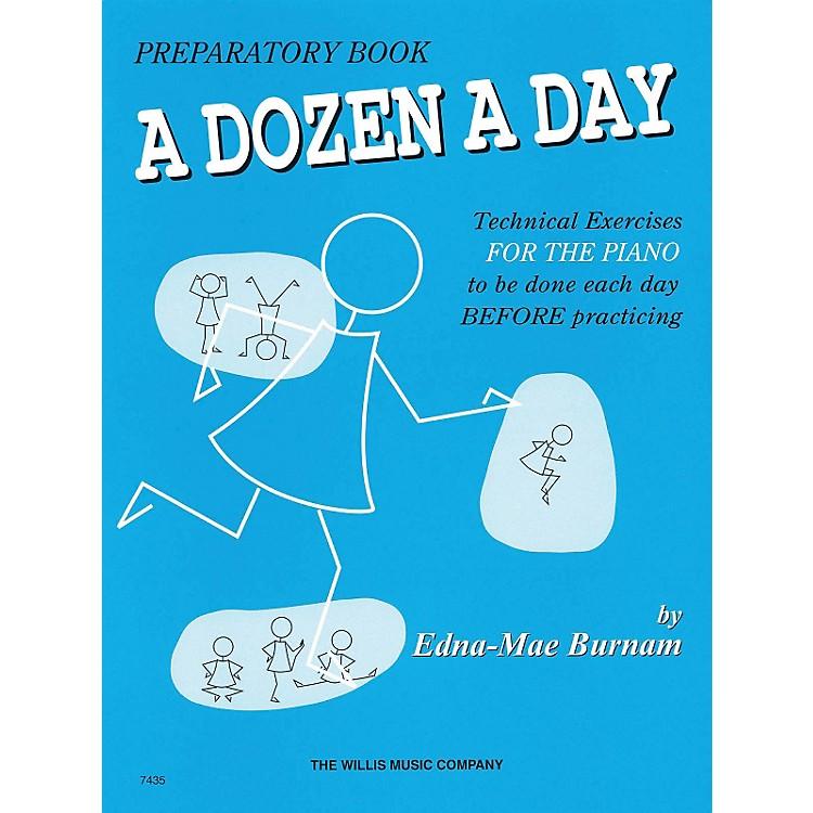 Hal LeonardA Dozen A Day Preparatory Book Technical Exercises For Piano (Blue cover)