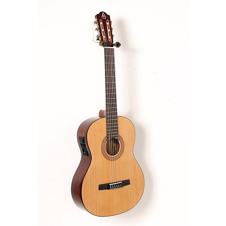 Hohner A+ Full Size Nylon String Acoustic-Electric Guitar Natural 888365907819