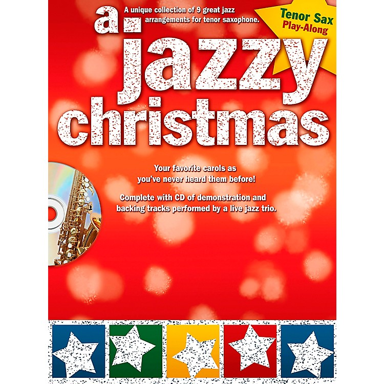 Hal LeonardA Jazzy Christmas - Tenor Sax Play-Along Book/CD