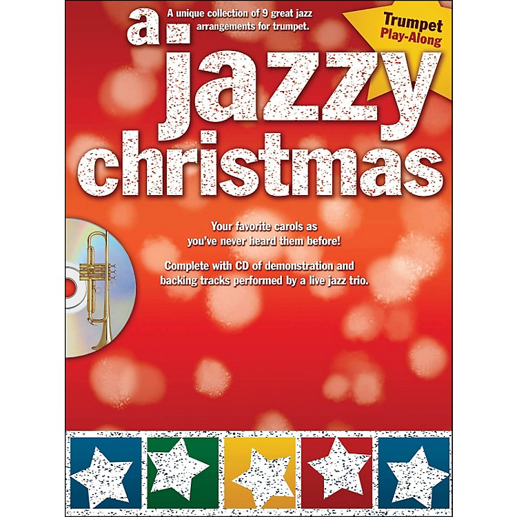 Hal Leonard A Jazzy Christmas - Trumpet Play-Along Book/CD