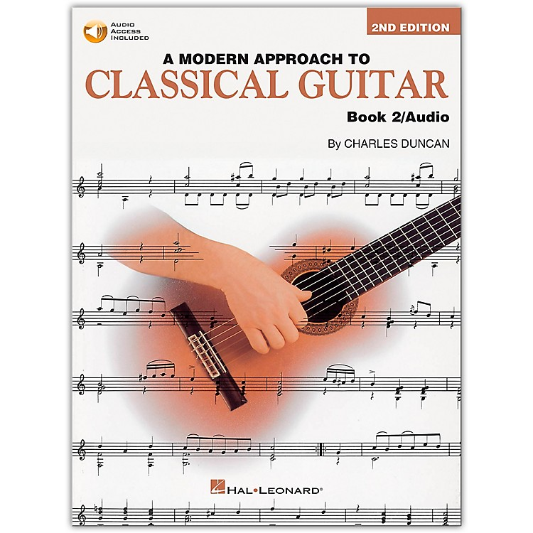Hal Leonard A Modern Approach to Classical Guitar 2 (Book/CD)