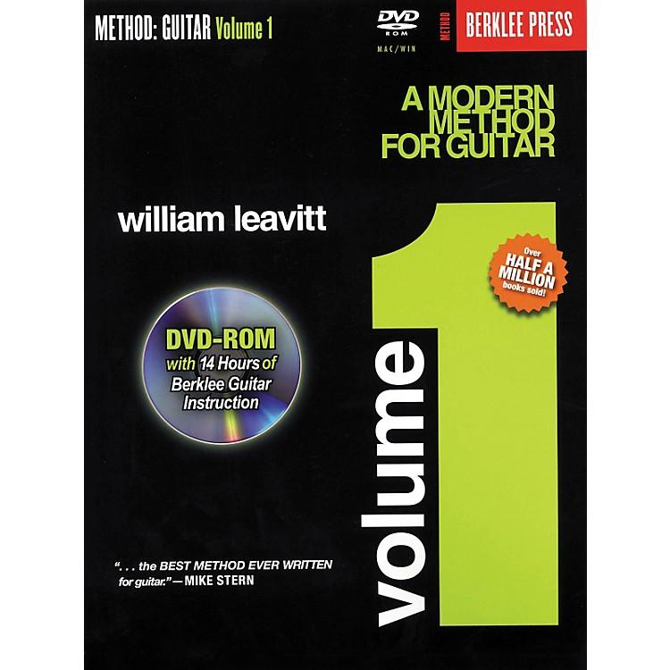 Berklee PressA Modern Method for Guitar - Volume 1 (Book/DVD-Rom)