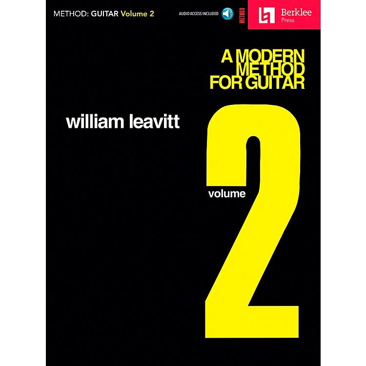 Berklee PressA Modern Method for Guitar - Volume 2 (Book/CD)