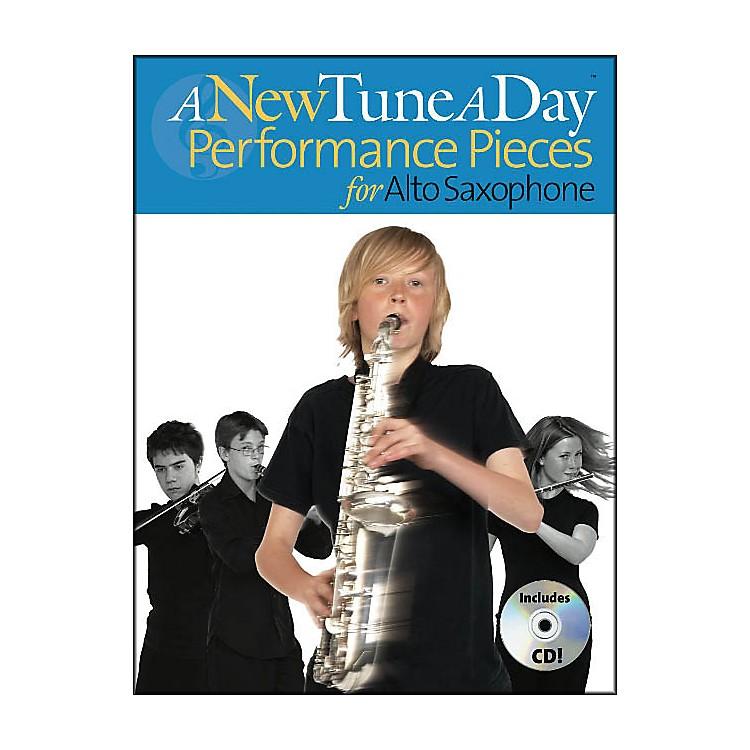 Music SalesA New Tune A Day Performance Pieces Alto Sax Book/CD