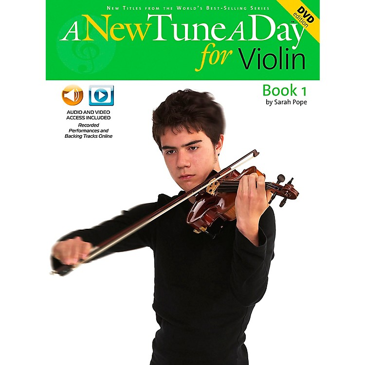 Music SalesA New Tune A Day for Violin Book 1 CD And DVD