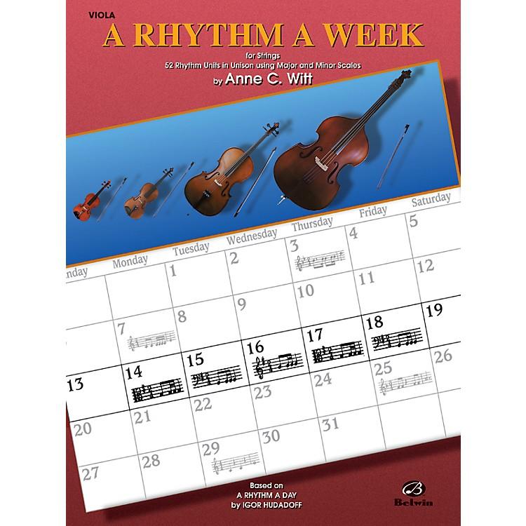 AlfredA Rhythm a Week Viola
