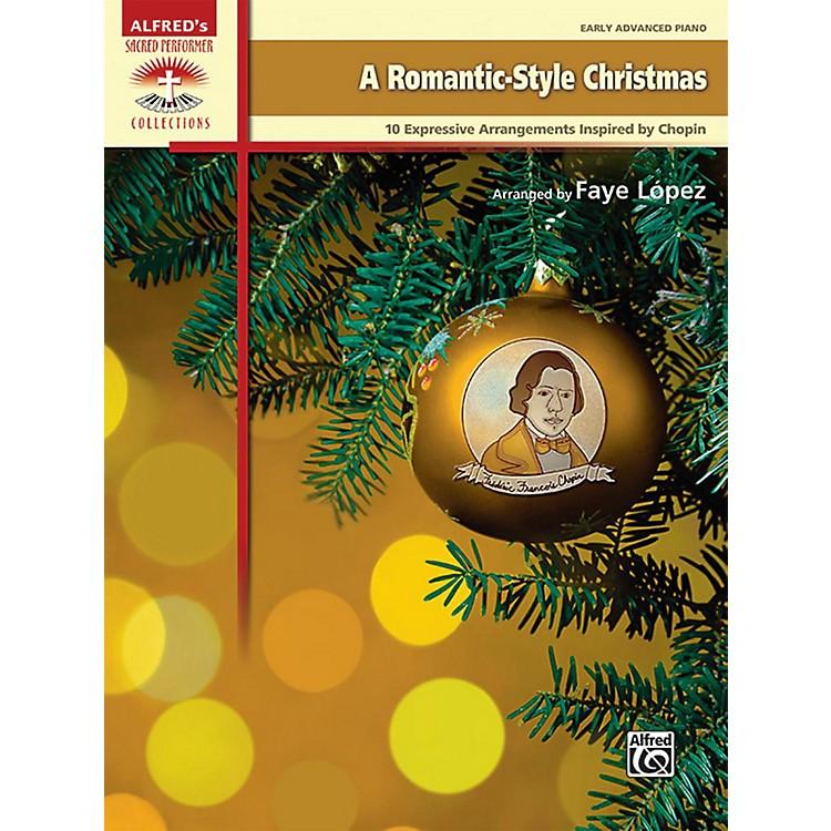 AlfredA Romantic-Style Christmas Early Advanced Piano Book