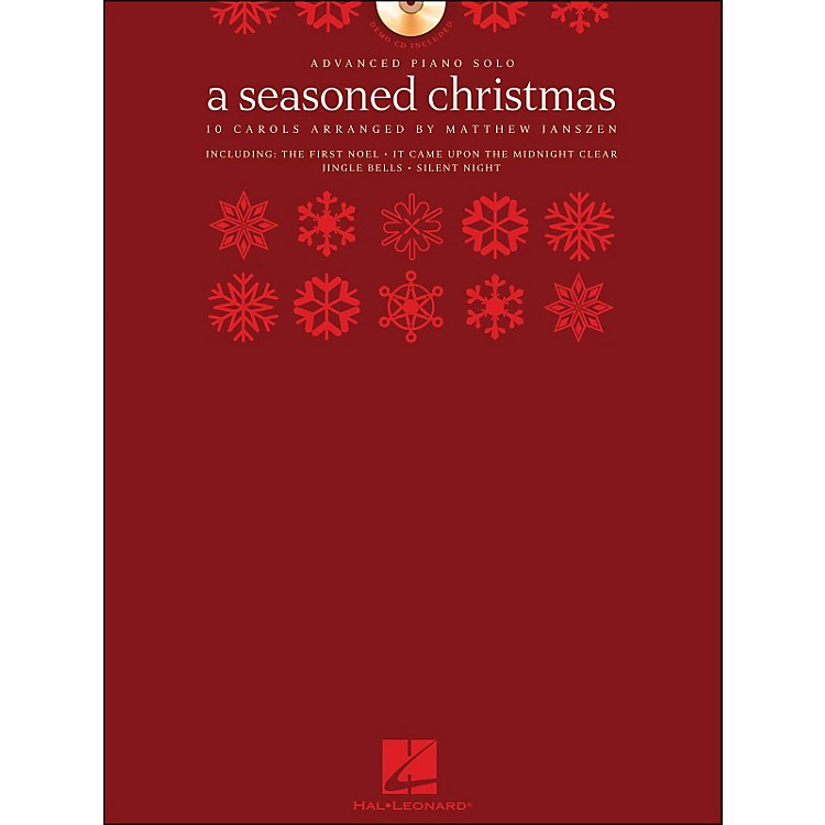Hal Leonard A Seasoned Christmas - Advanced Piano Solo (Book/CD Pack) arranged for piano solo