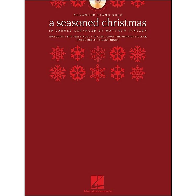Hal LeonardA Seasoned Christmas - Advanced Piano Solo (Book/CD Pack) arranged for piano solo