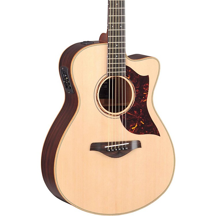 Yamaha A-Series All Solid Wood Concert Acoustic-Electric Guitar with SRT Preamp/Pickup Rosewood Back & Sides
