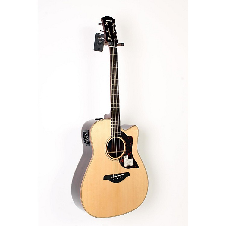 Yamaha A-Series All Solid Wood Dreadnought Acoustic-Electric Guitar with SRT Preamp/Pickup Rosewood Back and Sides 888365899787
