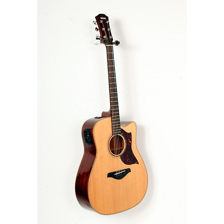 Yamaha A-Series All Solid Wood Dreadnought Acoustic-Electric Guitar with SRT Preamp/Pickup Mahogany Back and Sides 888365797366