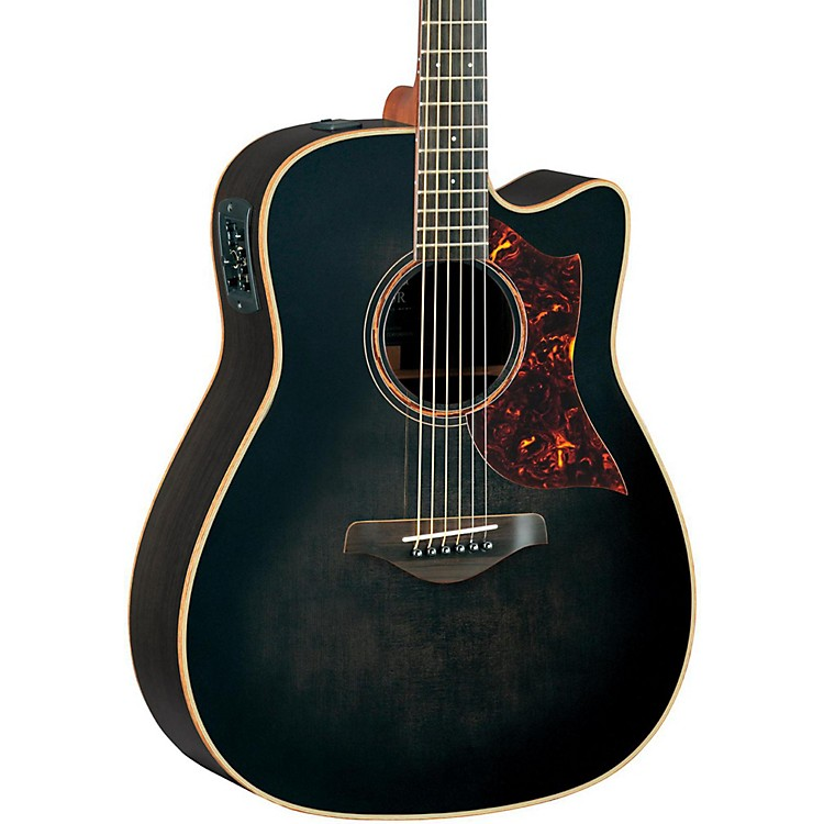 YamahaA-Series All Solid Wood Dreadnought Acoustic-Electric Guitar with SRT Preamp/Pickup