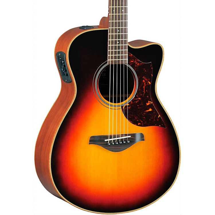 YamahaA-Series Concert Acoustic-Electric Guitar with SRT Pickup