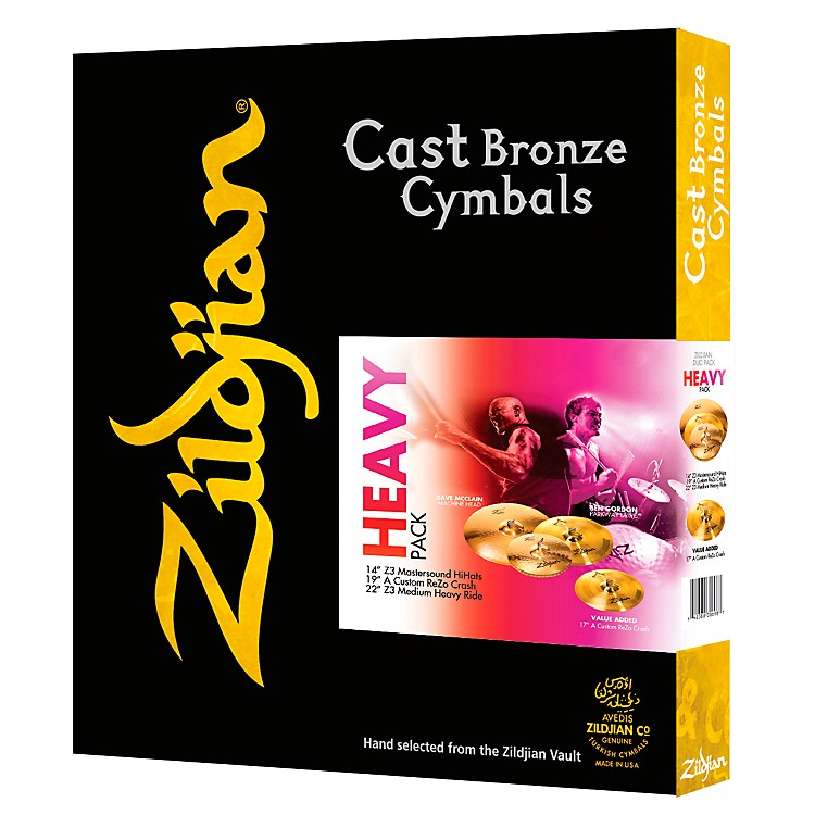 ZildjianA Series Heavy Pack