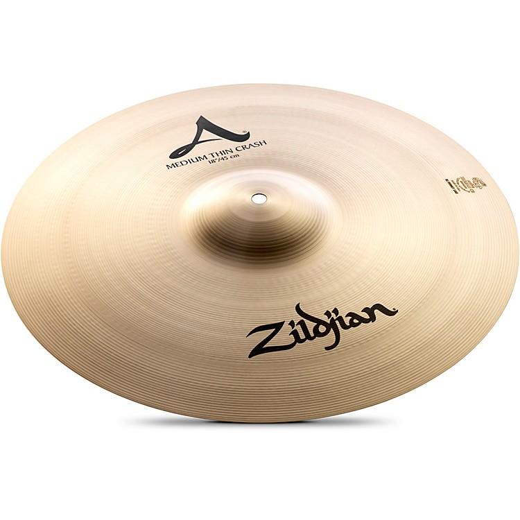 ZildjianA Series Medium-Thin Crash Cymbal18 in.