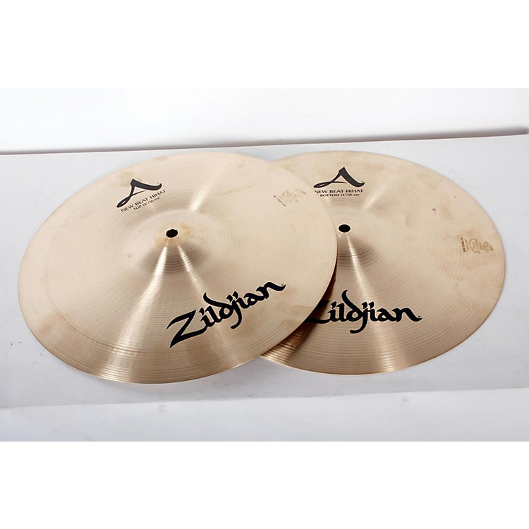 Zildjian A Series New Beat Hi-Hat Cymbal Pair 14 in. 888365905037