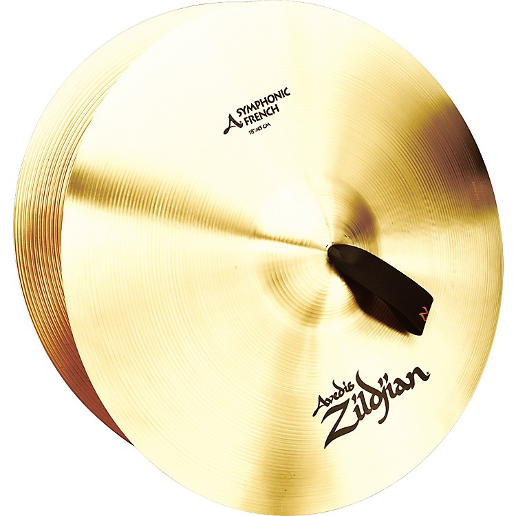 Zildjian A Symphonic French Tone Crash Cymbal Pair 18 in.