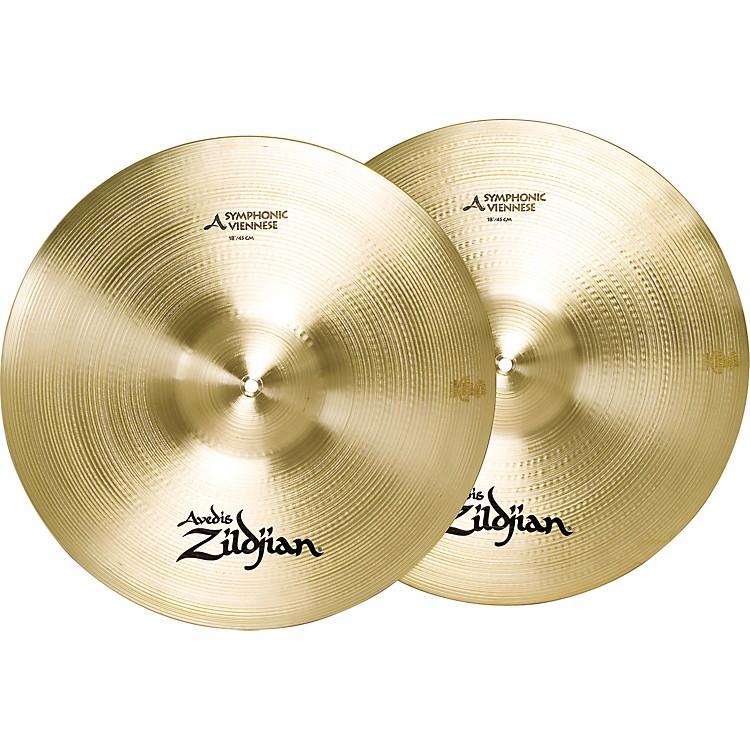 ZildjianA Symphonic Viennese Tone Crash Cymbal Pair