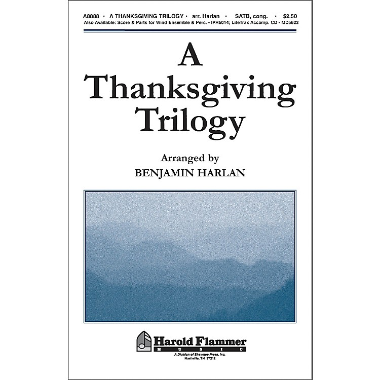 Hal Leonard A Thanksgiving Trilogy SATB