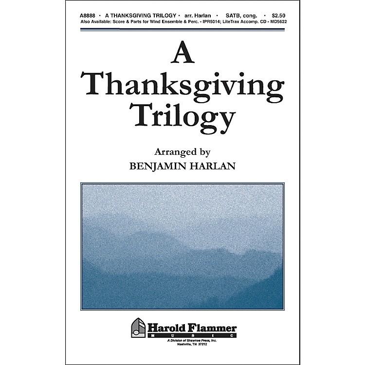 Hal LeonardA Thanksgiving Trilogy SATB
