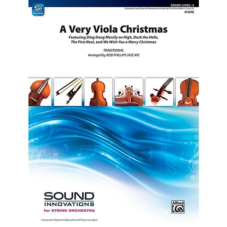 AlfredA Very Viola Christmas String Orchestra Grade 2