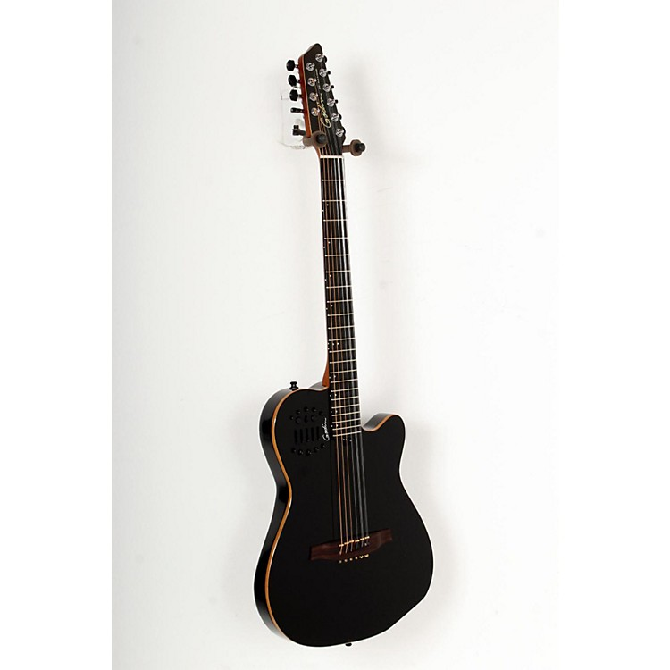 Godin A10 10-String Acoustic-Electric Guitar Black 888365770024