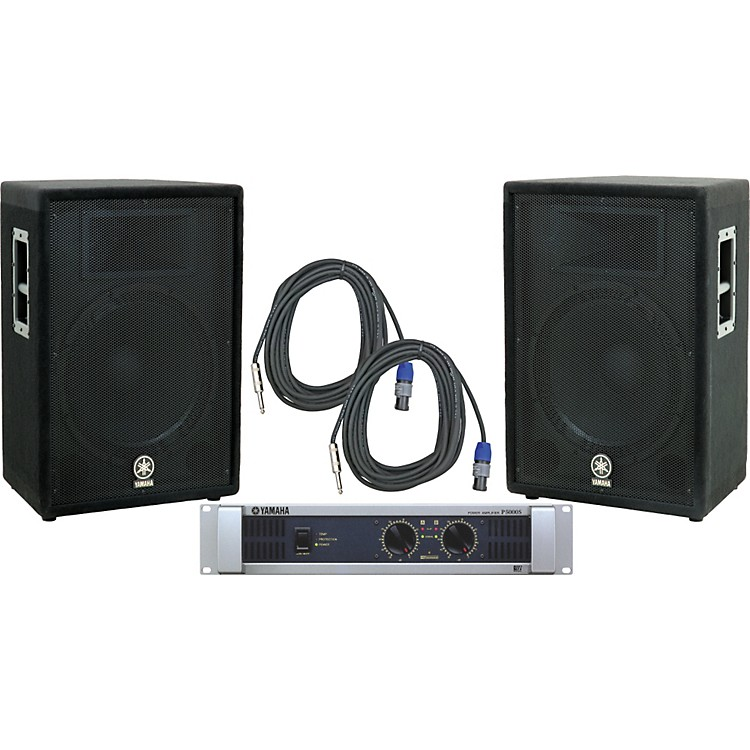 Yamaha A15/ P5000S Speaker & Amp Package