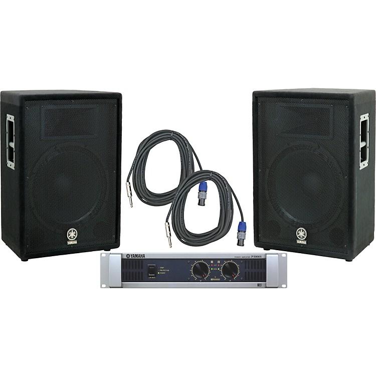 YamahaA15/ P5000S Speaker & Amp Package