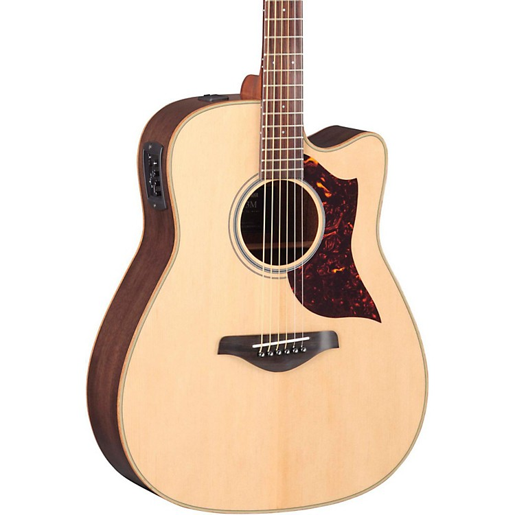 Yamaha A1R Dreadnought Acoustic-Electric Guitar with SRT Pickup Rosewood Back & Sides