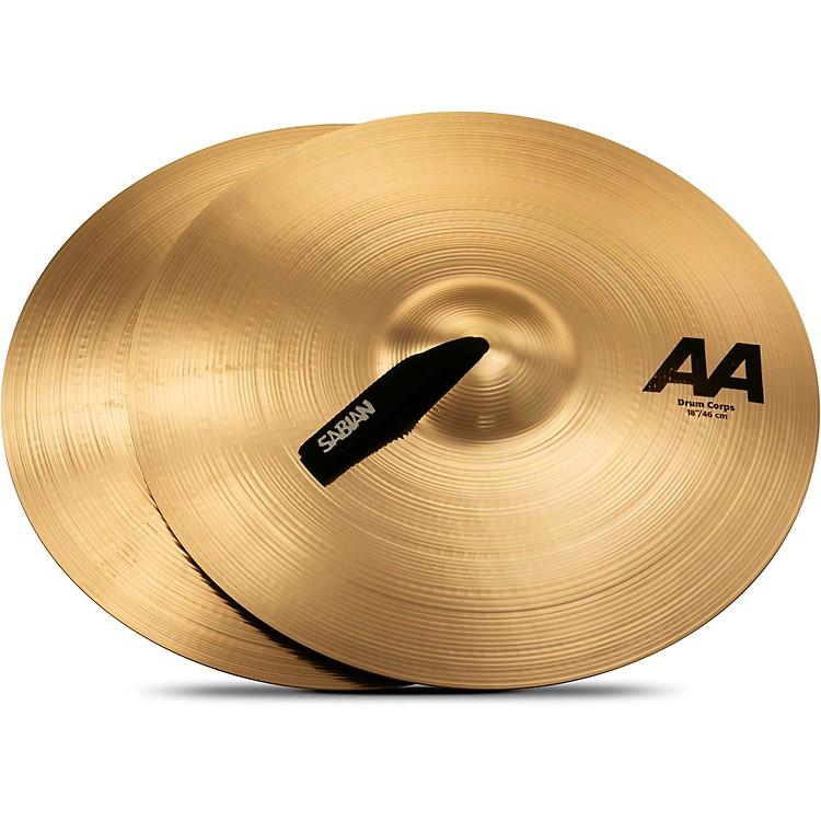 SabianAA Drum Corps Cymbals18 InBrilliant