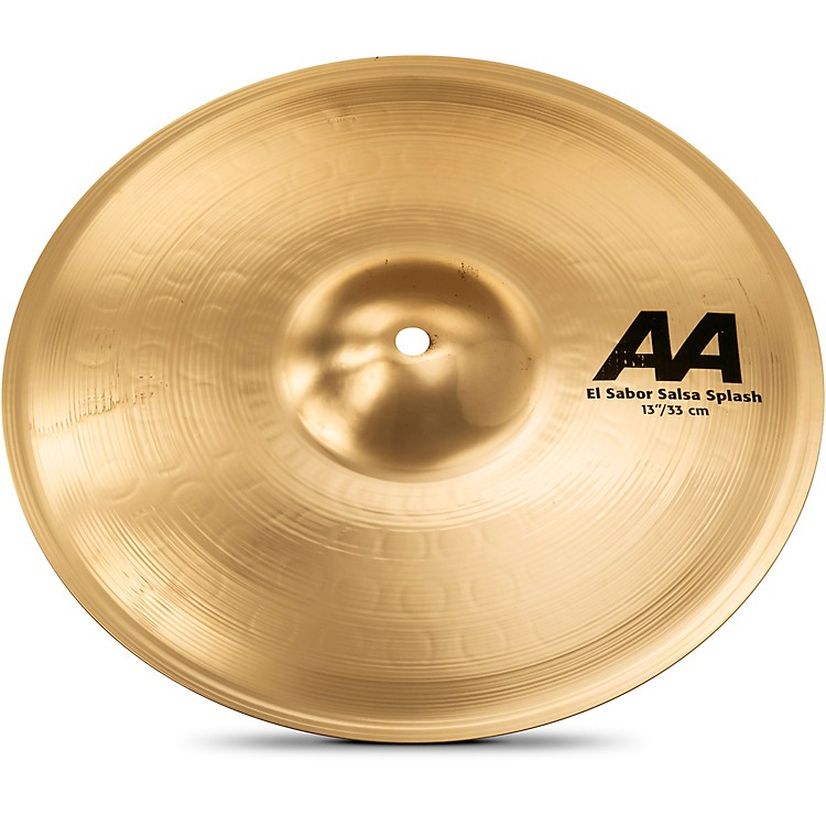 Sabian AA EL Sabor Salsa Splash Cymbal Brilliant 13 in.