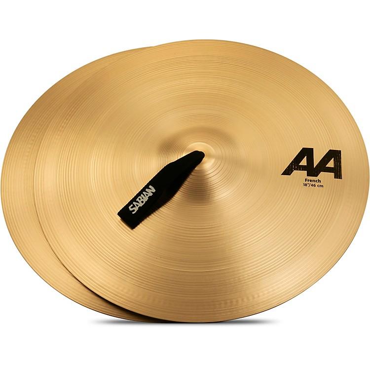 SabianAA French Cymbals18 in.