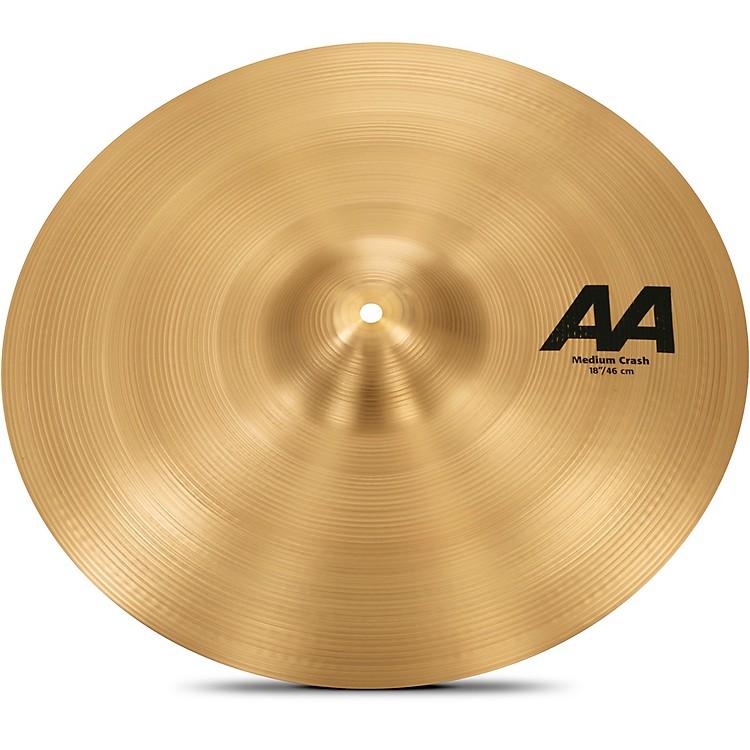 SabianAA Medium Crash Cymbal18 in.