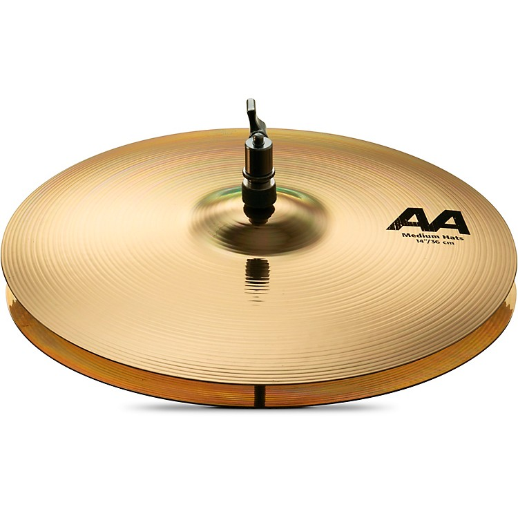 Sabian AA Medium Hi-Hats Brilliant 14 in.