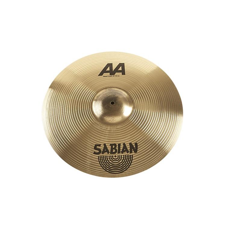SabianAA Metal Crash Cymbal