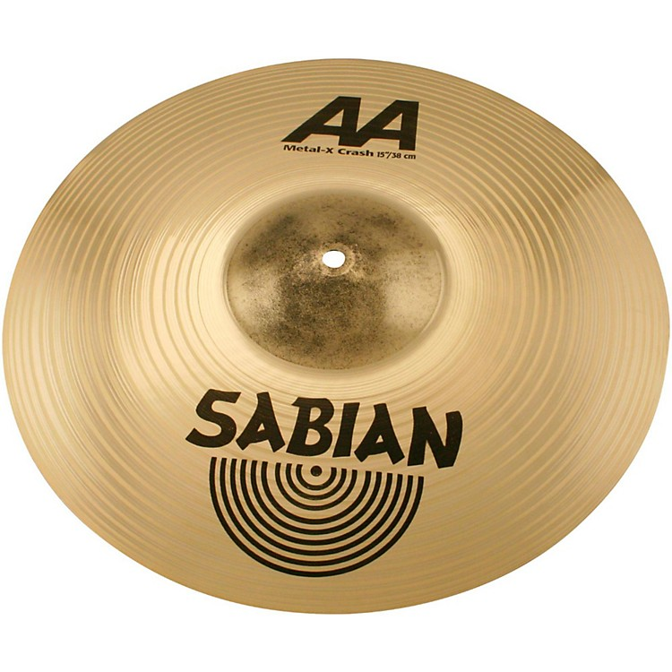 SabianAA Metal X Crash Cymbal Brilliant15 Inch