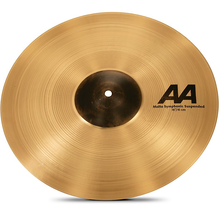 SabianAA Molto Symphonic Series Suspended Cymbal16 in.