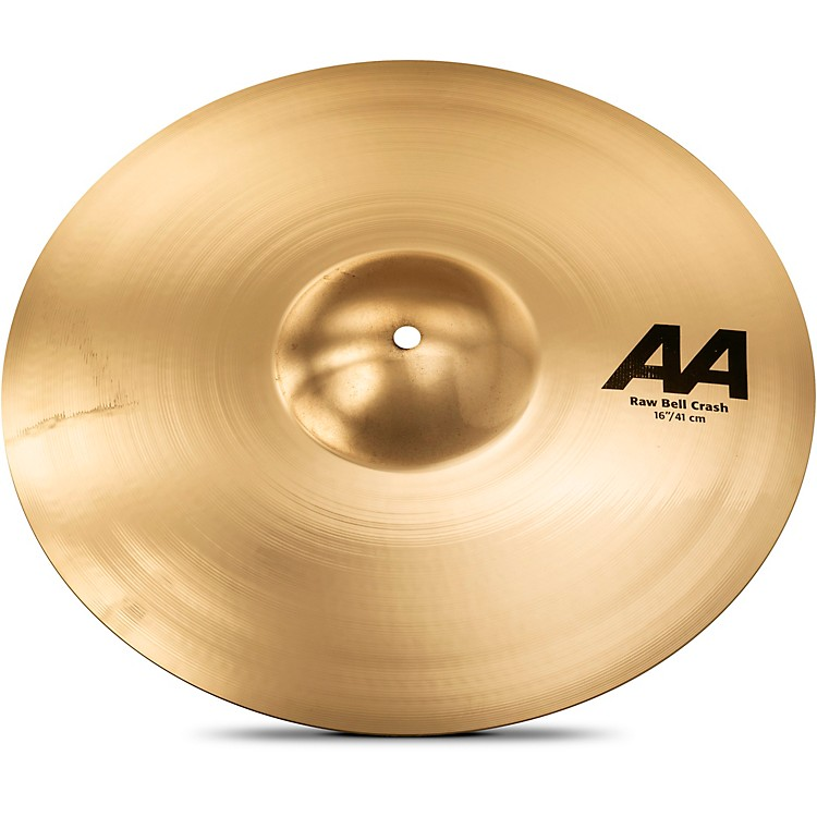 Sabian AA Raw Bell Crash Cymbal 16 in. Brilliant