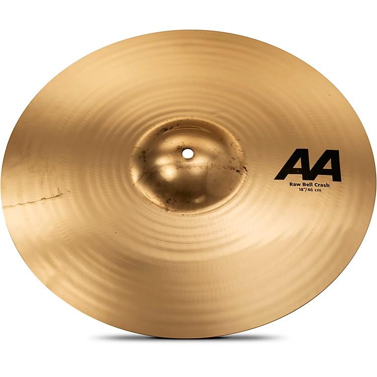 SabianAA Raw Bell Crash Cymbal18 in.Brilliant