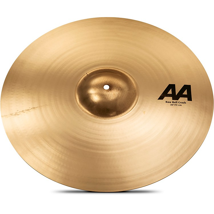 Sabian AA Raw Bell Crash Cymbal 20 in. Brilliant